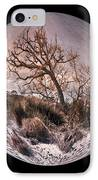 Windswept At Driftwood Beach II IPhone Case by Debra and Dave Vanderlaan