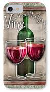 Wine Poetry IPhone Case by Sharon Marcella Marston