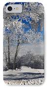 Winter Morning IPhone Case by Lois Bryan