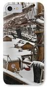 Winter On Deck IPhone Case by Heiko Koehrer-Wagner