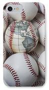 World Baseball IPhone Case by Garry Gay
