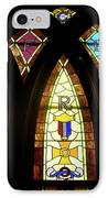 Wrc Stained Glass Window IPhone Case by Thomas Woolworth