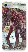 Zebras IPhone Case by George Rossidis