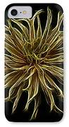 Zinnia  IPhone Case by Sandy Keeton