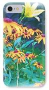 A Lily In The Field IPhone Case by Patricia Griffin Brett
