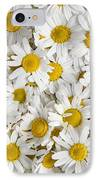 Chamomile Flowers IPhone Case by Elena Elisseeva