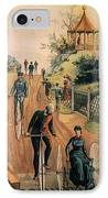 Columbia Bicycles Poster IPhone Case by Granger