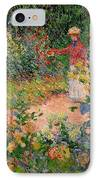 Garden At Giverny IPhone Case by Claude Monet