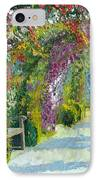 Germany Baden-baden Rosengarten IPhone Case by Yuriy  Shevchuk