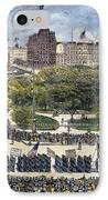 Labor Day Parade, 1882 IPhone Case by Granger