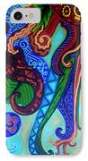 Metaphysical Habituation IPhone Case by Genevieve Esson