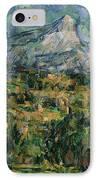 Mont Sainte Victoire IPhone Case by Paul Cezanne