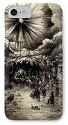 Night In Bethlehem IPhone Case by Rachel Christine Nowicki
