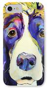 Sadie IPhone Case by Pat Saunders-White