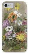 Summer Flowers IPhone Case by John Gubbins