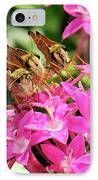 Three Of A Kind IPhone Case by Betty LaRue