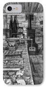1860's Ore Assay Office Shop - Montana IPhone Case by Daniel Hagerman