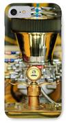1920 Ford C-cab Pickup Hood Ornament 2 IPhone Case by Jill Reger