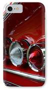 1958 Impala Tail Lights IPhone Case by Paul Ward