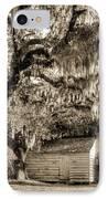 19th Century Slave House IPhone Case by Dustin K Ryan