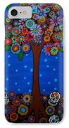 Day Of The Dead IPhone Case by Pristine Cartera Turkus