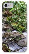 White Oak Run In Spring IPhone Case by Thomas R Fletcher