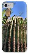 A Spiky Home IPhone Case by Christine Till