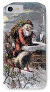 A Visit From St Nicholas IPhone Case by Granger