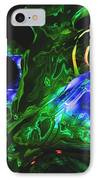 Abstract 7-25-09-1 IPhone Case by David Lane