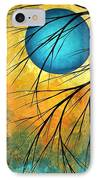 Abstract Landscape Art Passing Beauty 1 Of 5 IPhone Case by Megan Duncanson