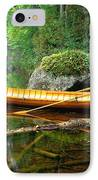 Adirondack Guideboat IPhone Case by Frank Houck