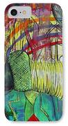African Roots IPhone Case by Peggy  Blood