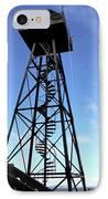 Alcatraz Guard Tower - San Francisco IPhone Case by Daniel Hagerman