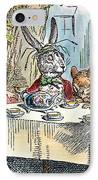 Alices Mad-tea Party, 1865 IPhone Case by Granger