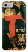Ambassadeurs IPhone Case by Henri de Toulouse-Lautrec