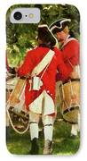 Americana - People - Preparing For Battle IPhone Case by Mike Savad