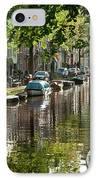 Amsterdam Canal IPhone Case by Joan Carroll