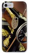 Antique Singer Sewing Machine 3 IPhone Case by Kelley King