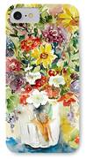 Arrangement IIi IPhone Case by Ingrid Dohm