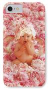 Peony Angel IPhone Case by Anne Geddes
