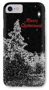 Winter's Night IPhone Case by Methune Hively