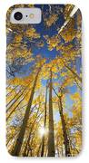 Aspen Tree Canopy 3 IPhone Case by Ron Dahlquist - Printscapes