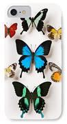 Assorted Butterflies IPhone Case by Garry Gay