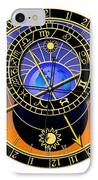 Astronomical Clock IPhone Case by Michal Boubin