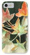 Autumn Leaves IPhone Case by Arline Wagner