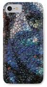 Avatar Neytiri Bottle Cap Mosaic IPhone Case by Paul Van Scott