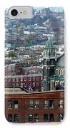 Baltimore Rooftops IPhone Case by Carol Groenen