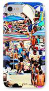 Beach Chaos IPhone Case by Diana Angstadt