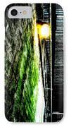 Beneath The Boardwalk IPhone Case by Michael Grubb