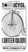 Bicycle Advertisement, 1888 IPhone Case by Granger